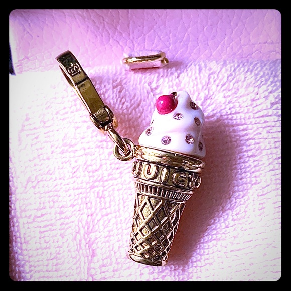 Juicy Couture Jewelry - Juicy Couture ice cream charm.